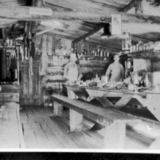 logging camp dining rogers lbr
